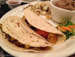 Kerensa's veggie tacos