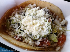 The Queso Fresco taco