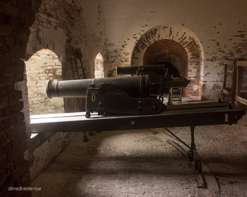 Cannon at Fort Morgan