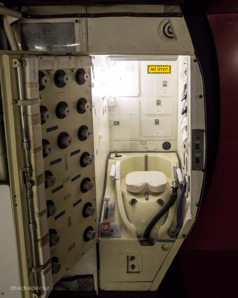 Space Toilet at NASA