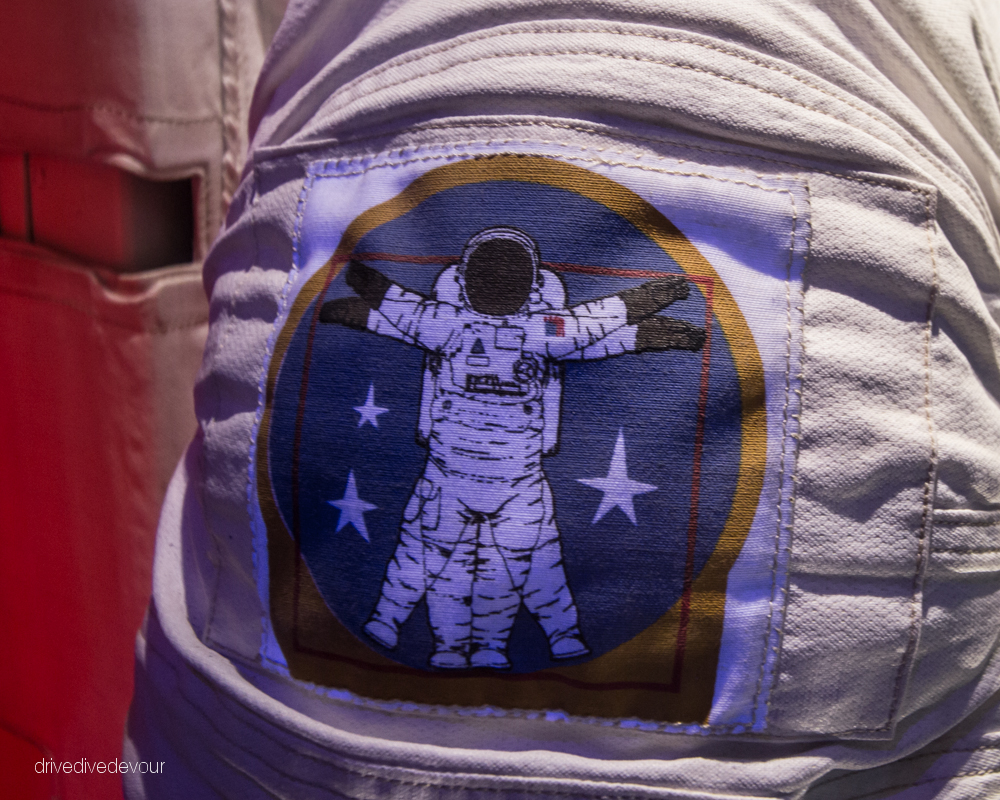 Spacesuit patch at NASA