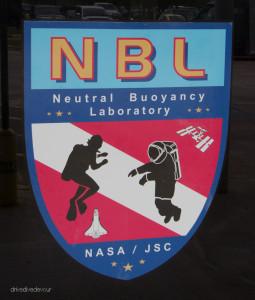 NASA Neutral Buoyancy Laboratory sign