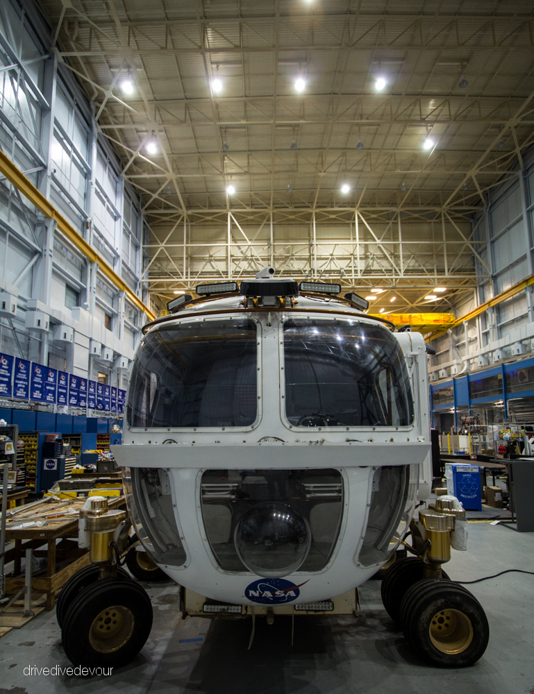 Mars Exploration Vehicle Prototype