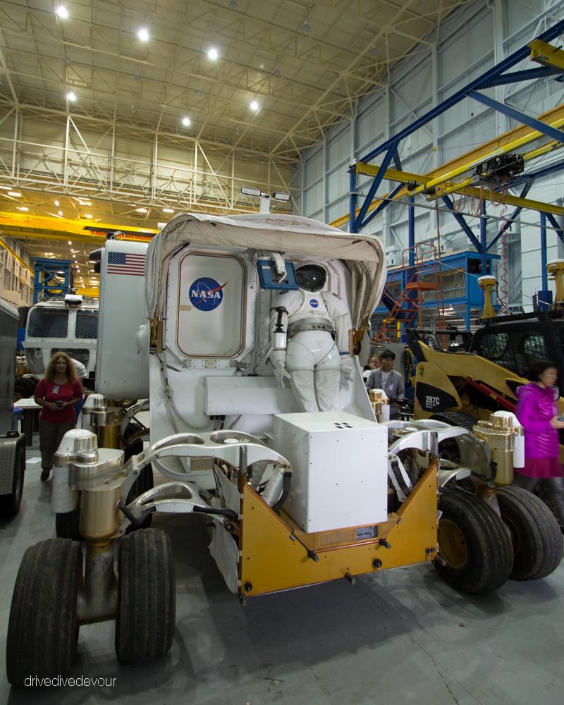 Mars Exploration Vehicle Prototype back