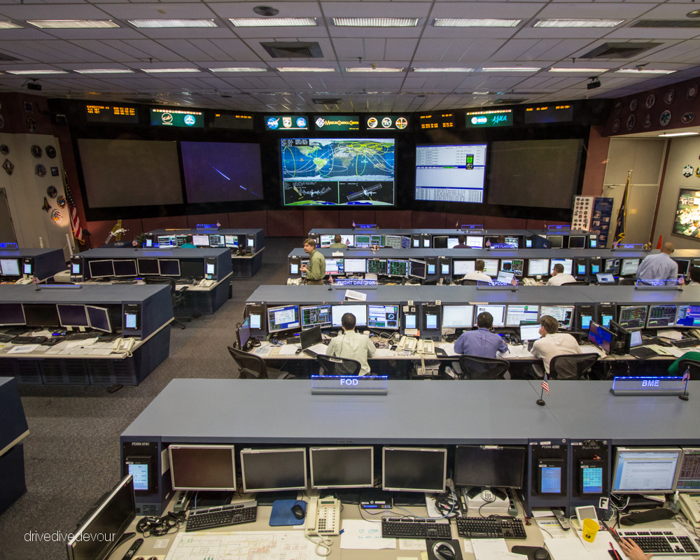 Present Day Mission Control