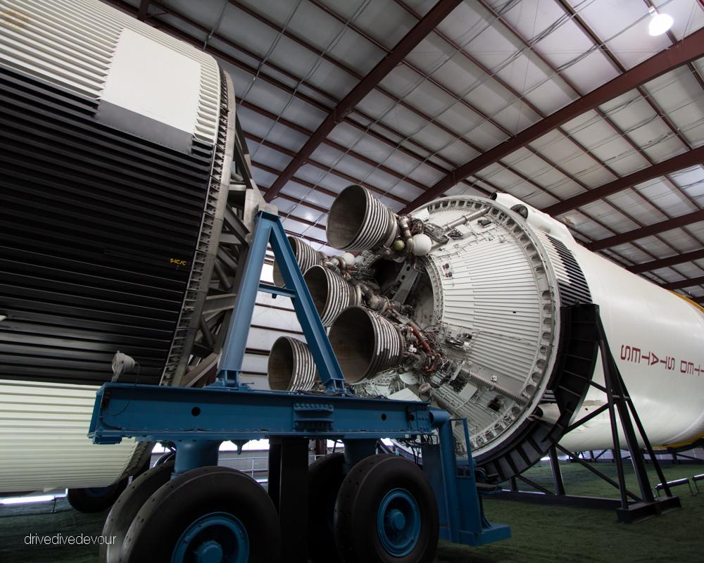 Saturn V rocket at NASA