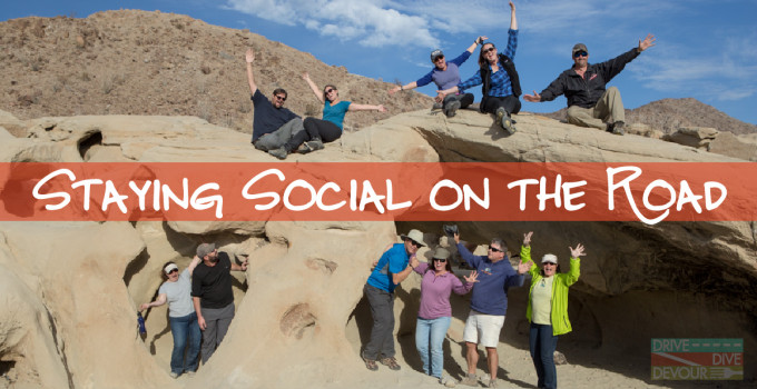 Staying Social on the Road: How We Create a Community on the Internet