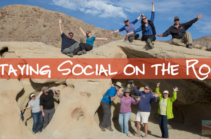 Staying Social on the Road