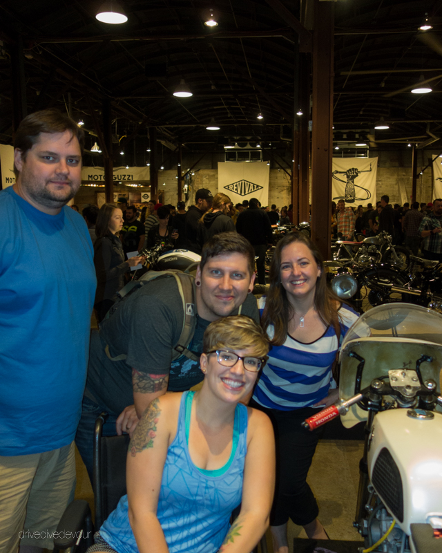Group shot of us with Wheeled & Free