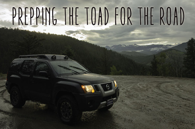 Meet Rex Part II – Prepping the Toad for the Road