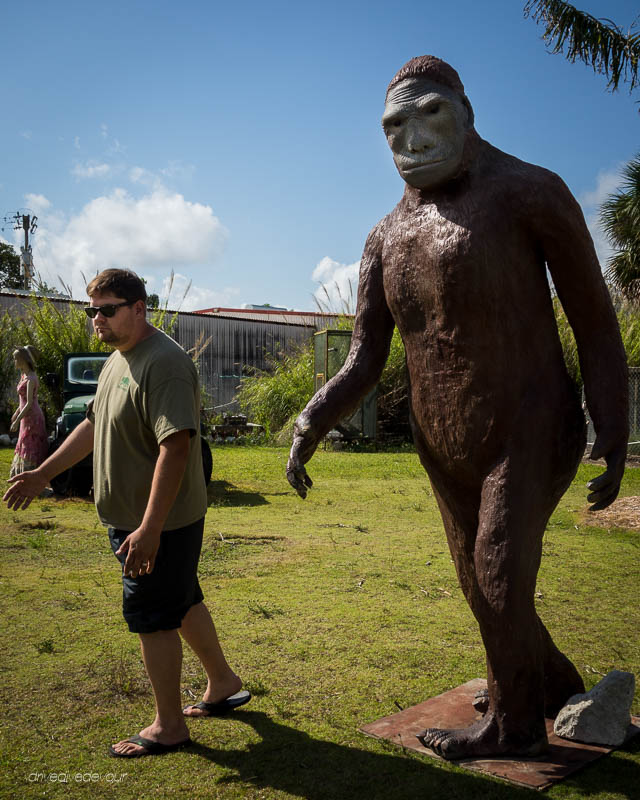 Skunk Ape and Brandon