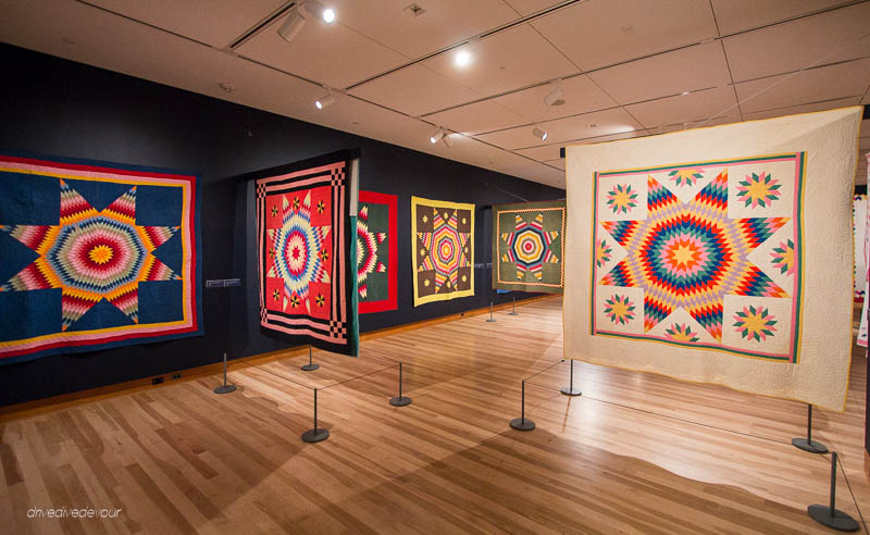 Star Quilts at the Shelburne Museum