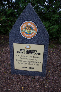 Miz Jelena's Sweet Potato Pie tombstone