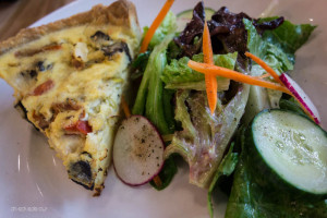 Quiche at South End Kitchen