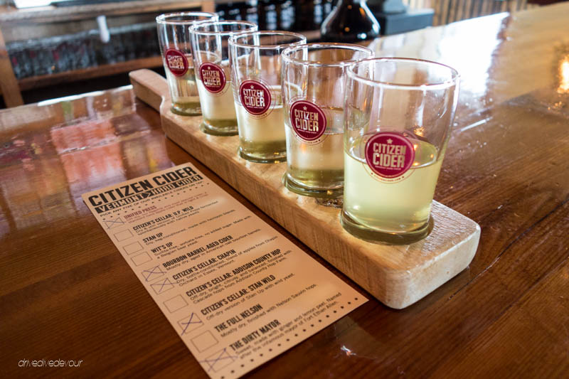 Citizen Cider sampler