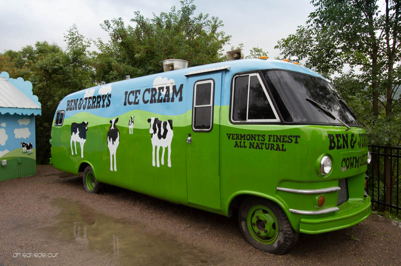 Ben and Jerry's van