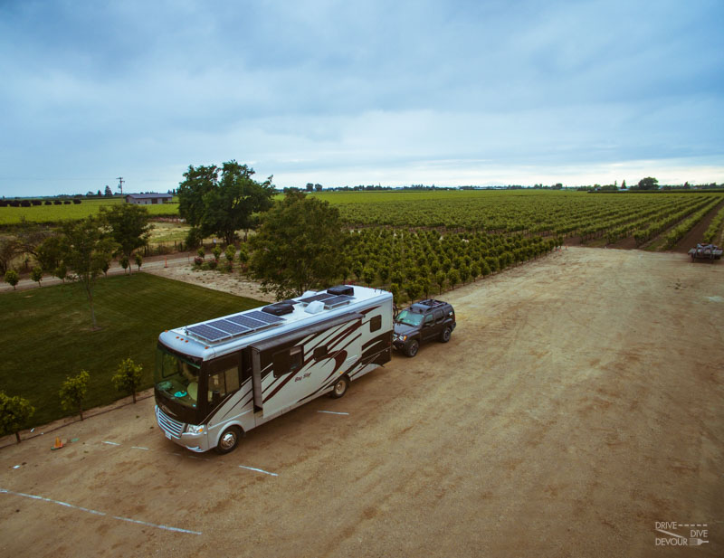 Harvest Host-RV Solar