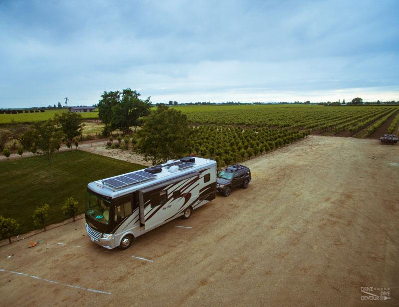 Harvest Host-RV Solar
