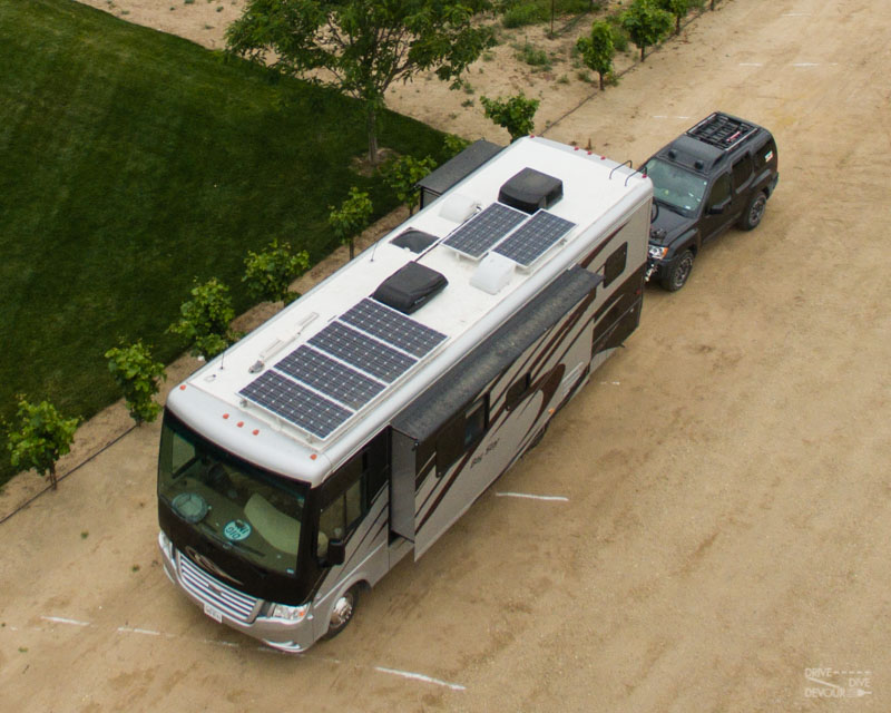 RV solar on roof