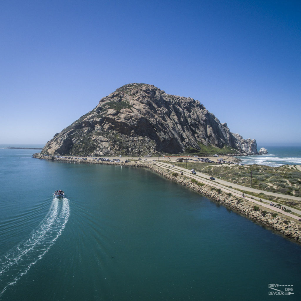 Morro Rock in Central Coast CA