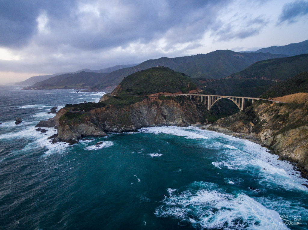 Bixby Bridge Big Sur Central Coast CA