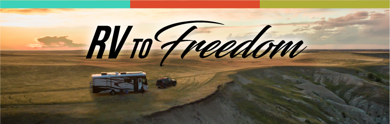RV to Freedom Cover Photo- Living an in RV