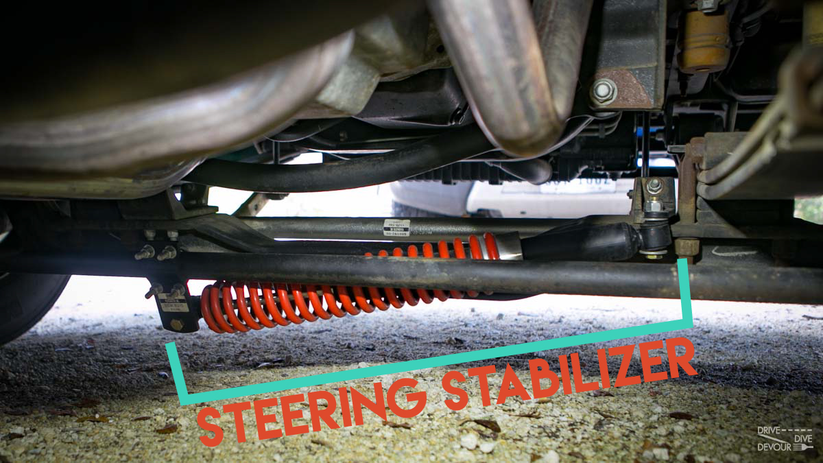 RV Steering Stabilizer