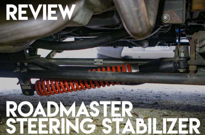 Keeping It Between the Mayo and Mustard: Our Roadmaster RV Steering Stabilizer Review