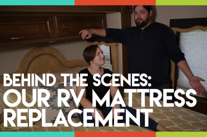 An Inside Look at Our RV Mattress Replacement and a Discount Code!