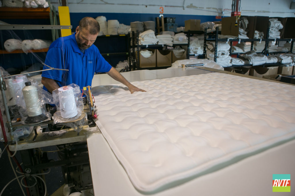 Sewing a New Mattress