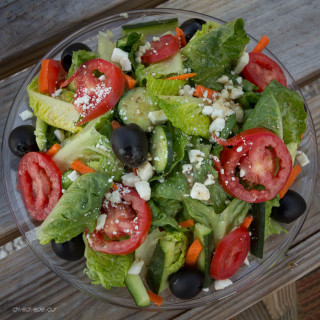 Pappas Style Greek Salad with Potatoes