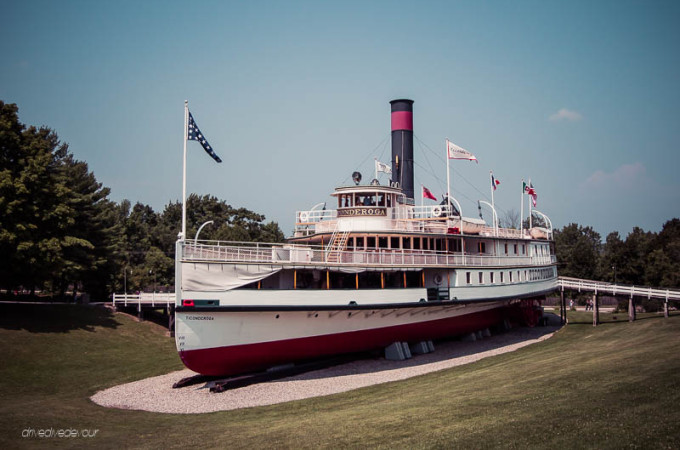 Ticonderoga Steamship