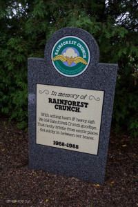Rainforest Crunch tombstone