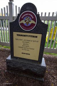 Vermonty Python tombstone